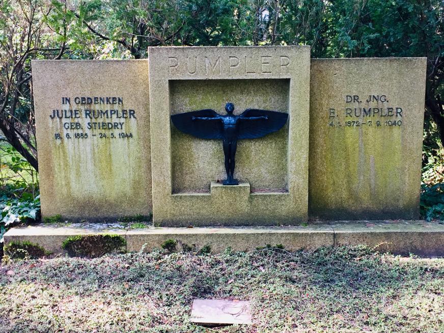 Flugzeugkonstrukteur 'Edmund Rumpler