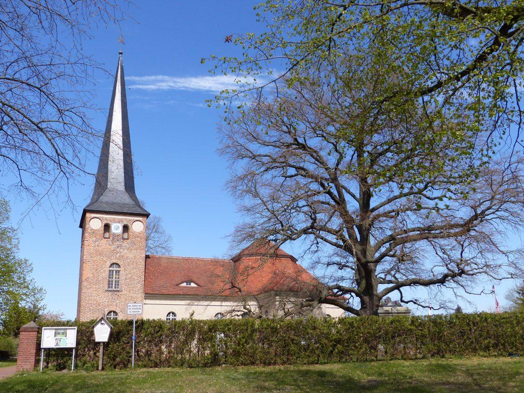 Dorfkirche Roskow Havelland Brandenburg Storchenrwadweg
