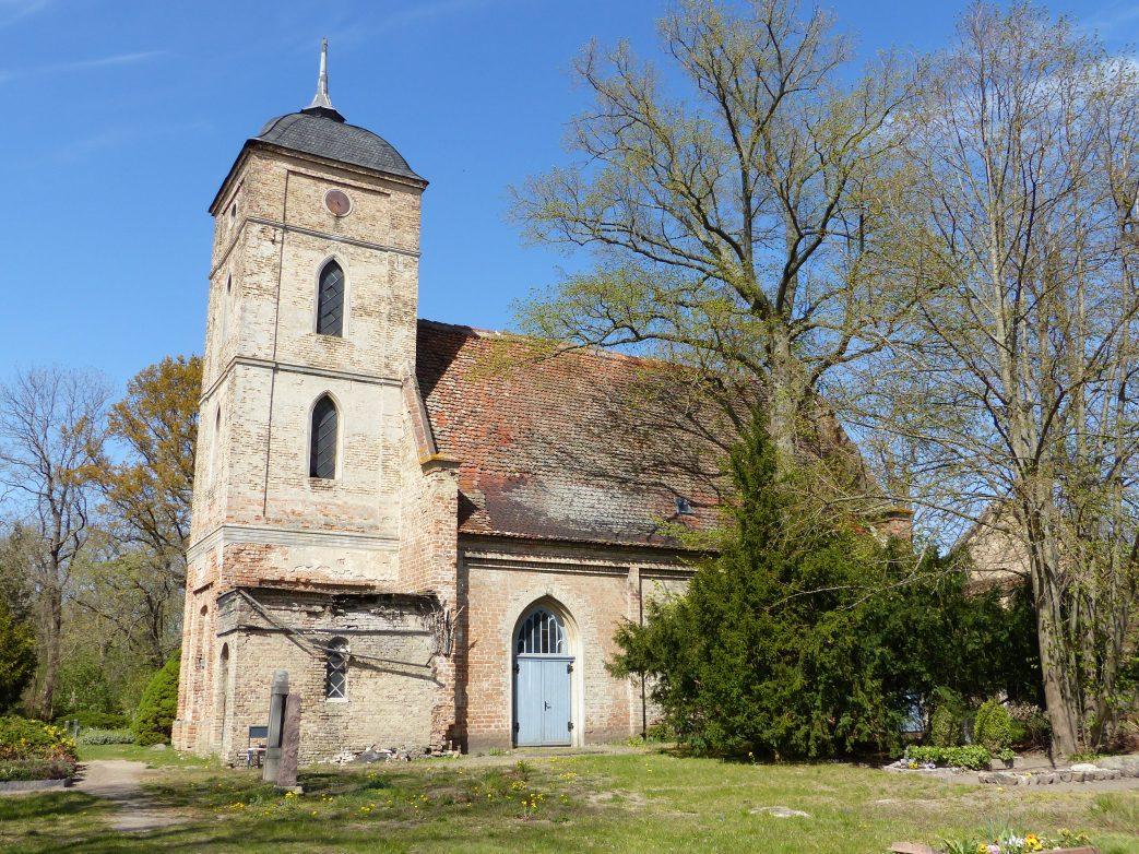 Dorfkirche Gutenpaaren Havelland Storchenrwadweg