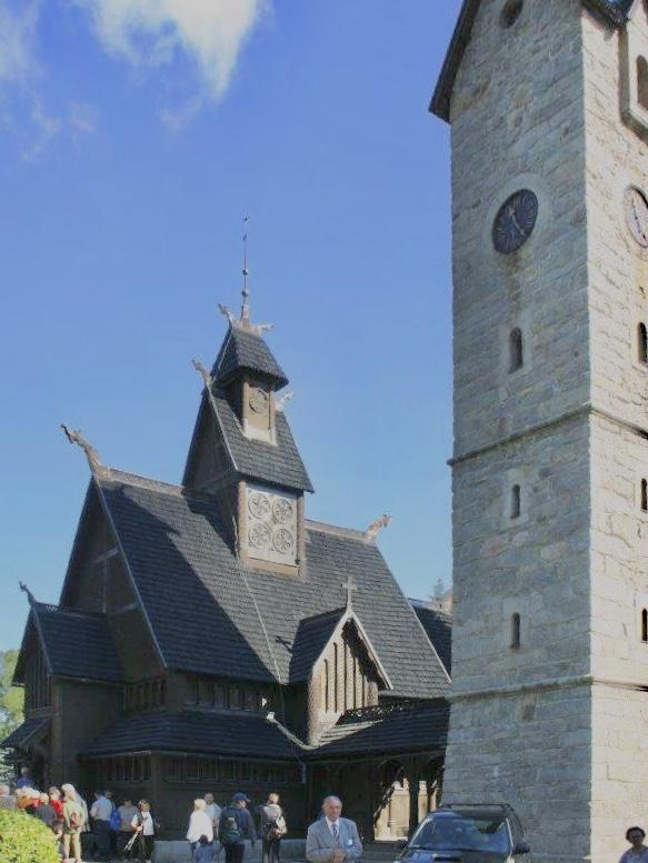 Kirche Wang im Riesengebirge Foto: Weirauch