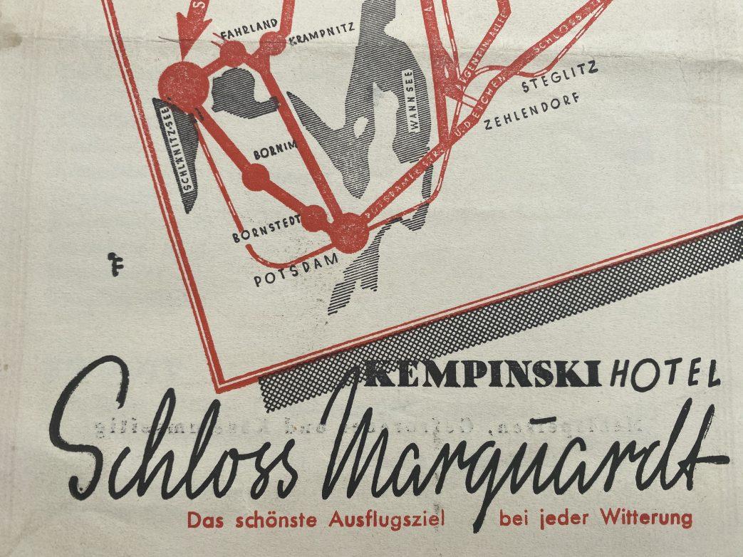 Berliner Ausflugsziel: Kermpinski Schloss Marquardt Foto: Archiv Weirauch