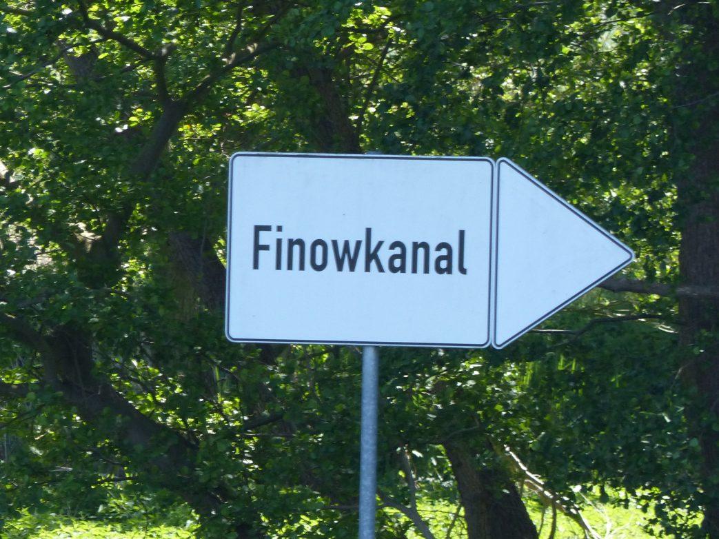 Ragöser Schleuse am Finowkanal
