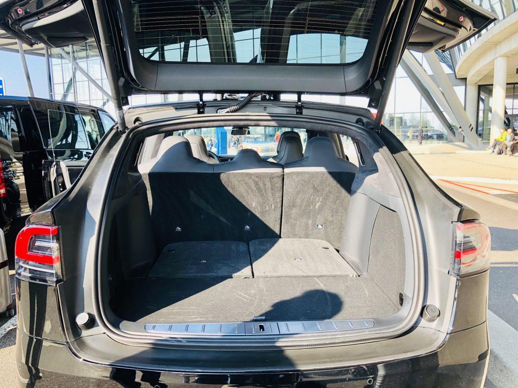 Blick in den Kofferraum Foto: Weirauch