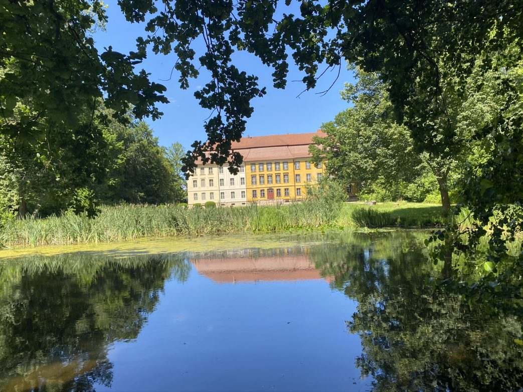 Rohkunstbau Schloss Lieberose Brandenburg