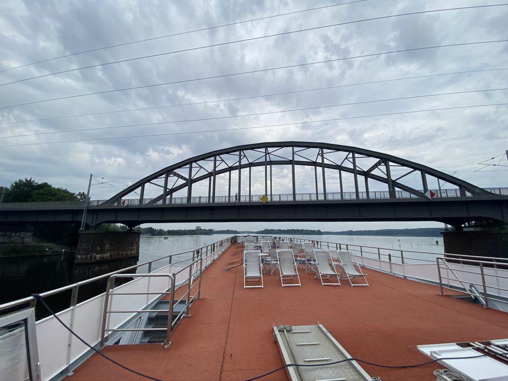 Eisenbahnbrücke über Templiner See