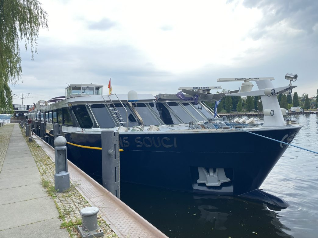 MS Sans souci im Hafen von Potsdam Foto: Weirauch