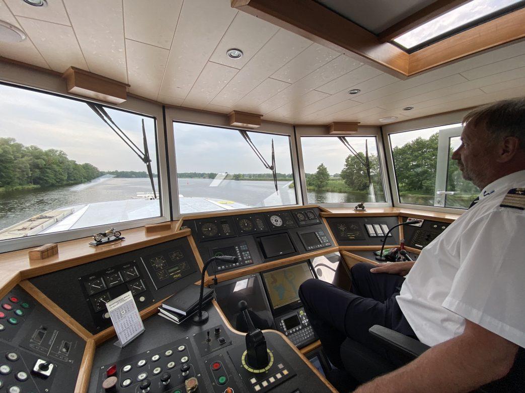 Stolzer Kapitän: Kapitän Peter Grunewald