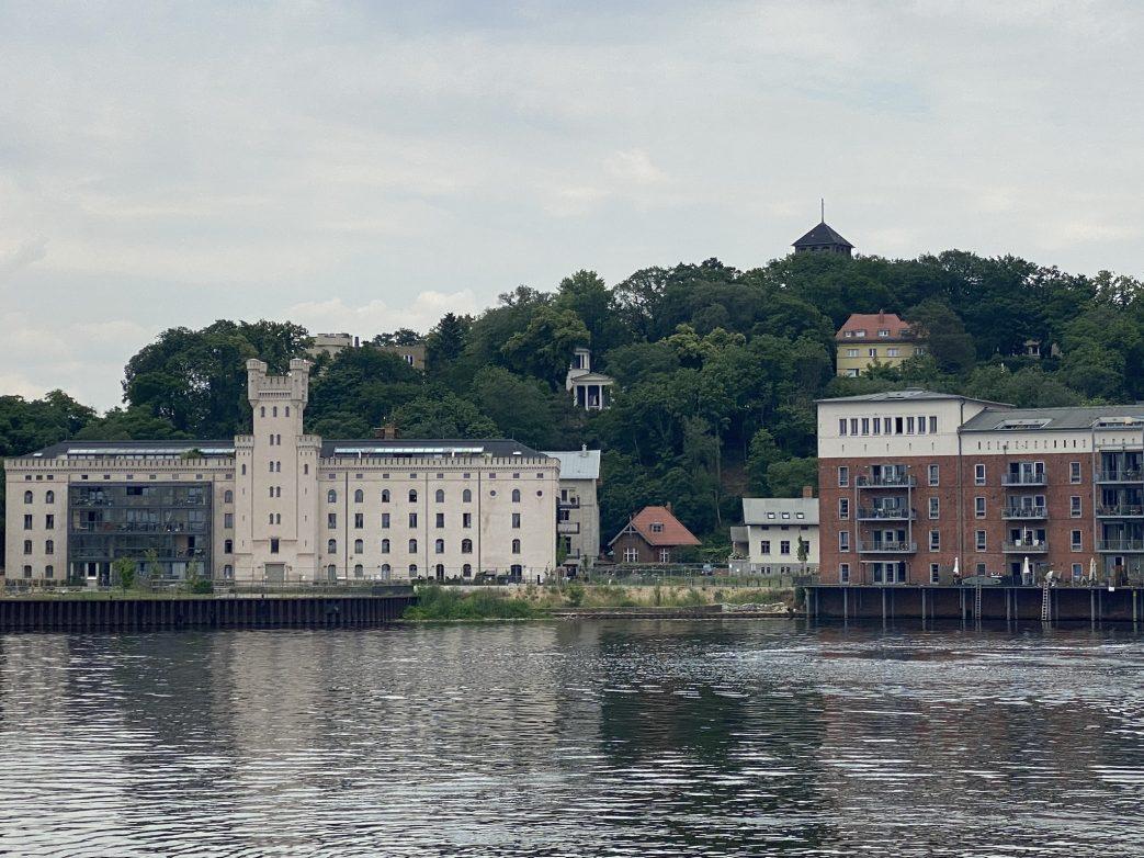 Blick zum Brauhausberg von Potsdam