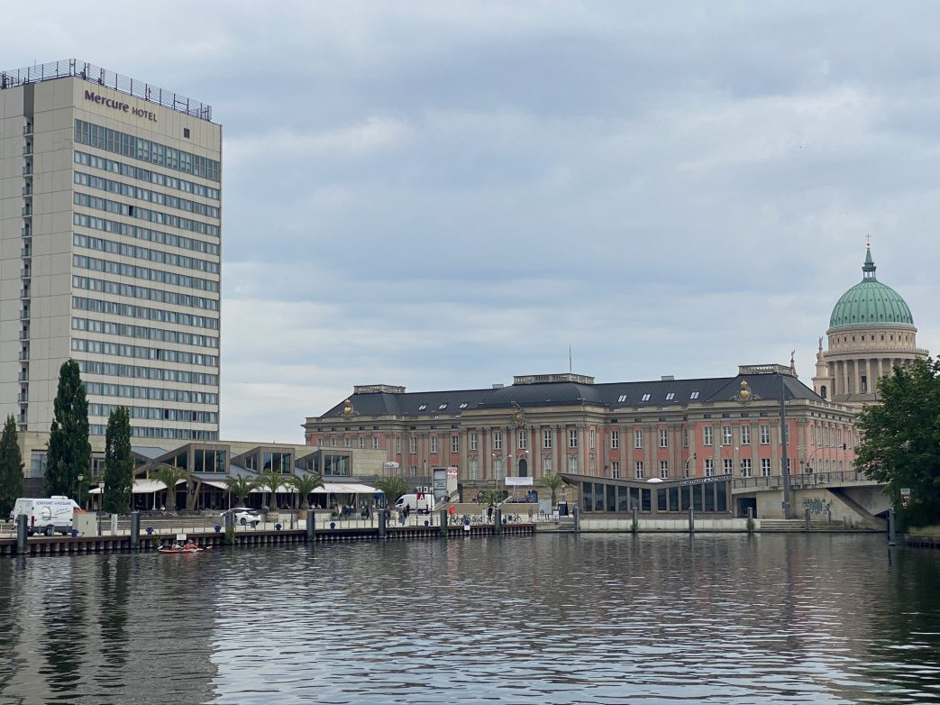 Blick auf das Landtagsschloss Foto: Weirauch