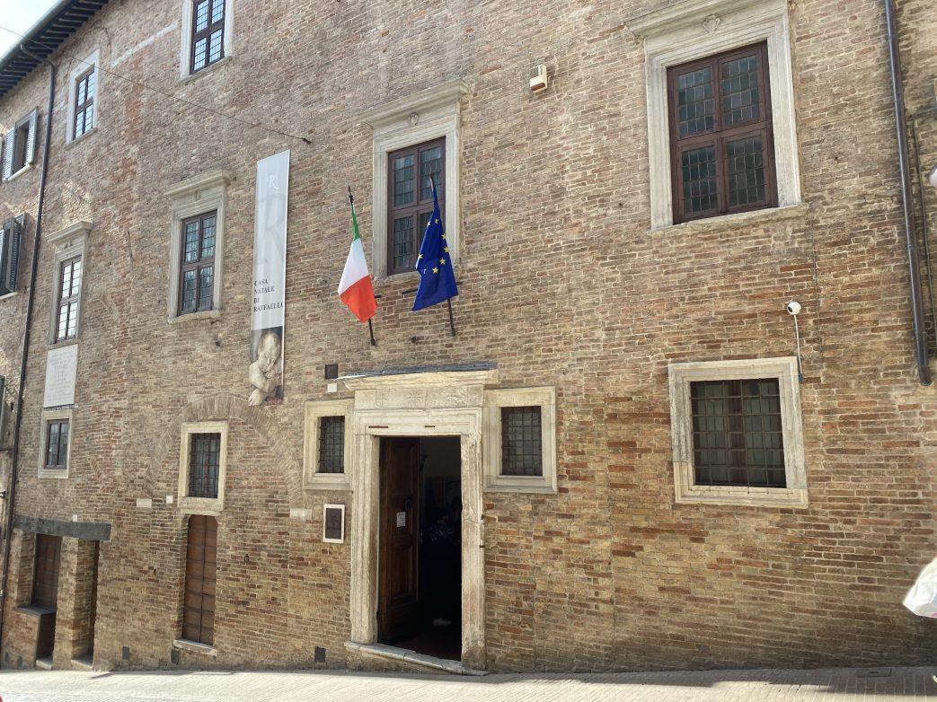 Geburtshaus von Raffael in Urbino Foto: Weirauch