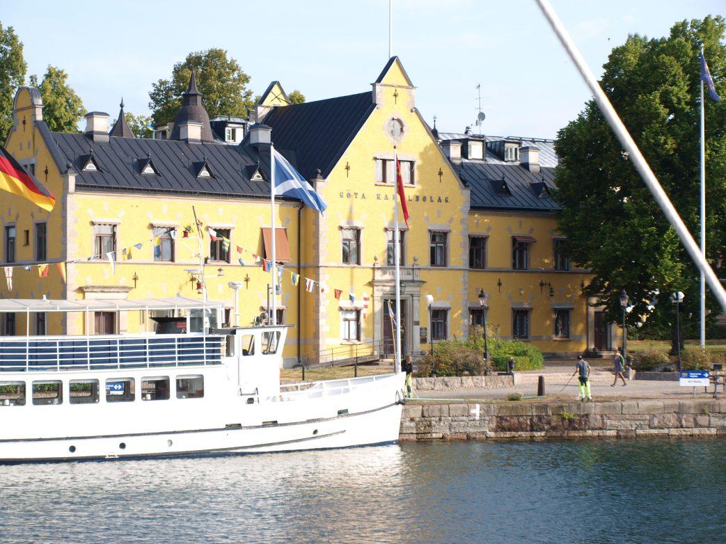 Abfahrt in Göteburg