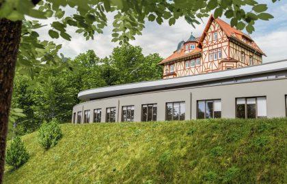 Romantik Hotel FreiWerk Aussenansicht