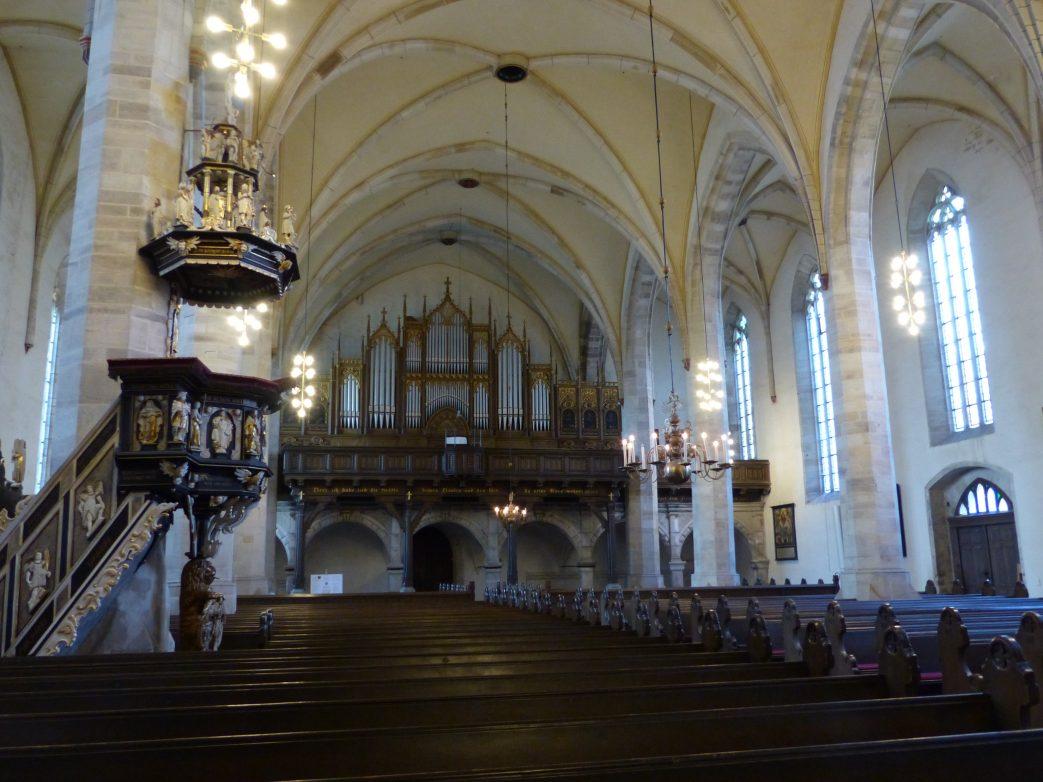Aschersleben Blick in die St.-Stephanie Kirche