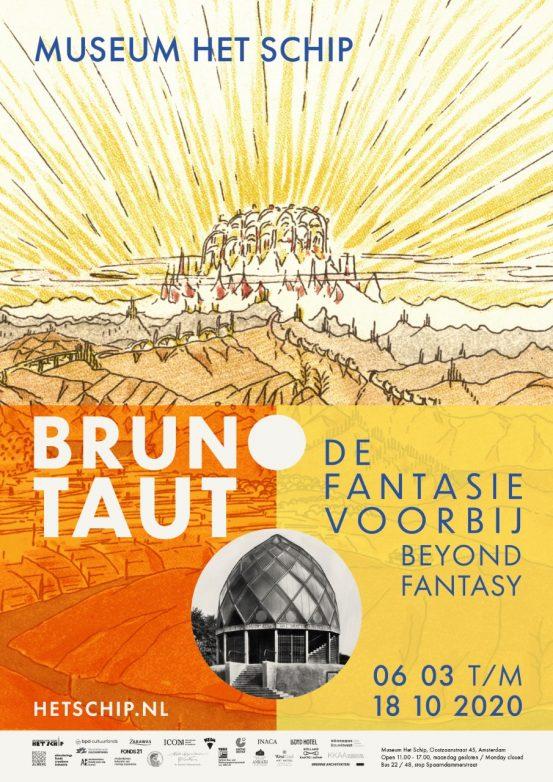 Campagnebeeld_met_sponsoren_Bruno_Taut_De_fantasie_voorbij_Johan_Wiericx