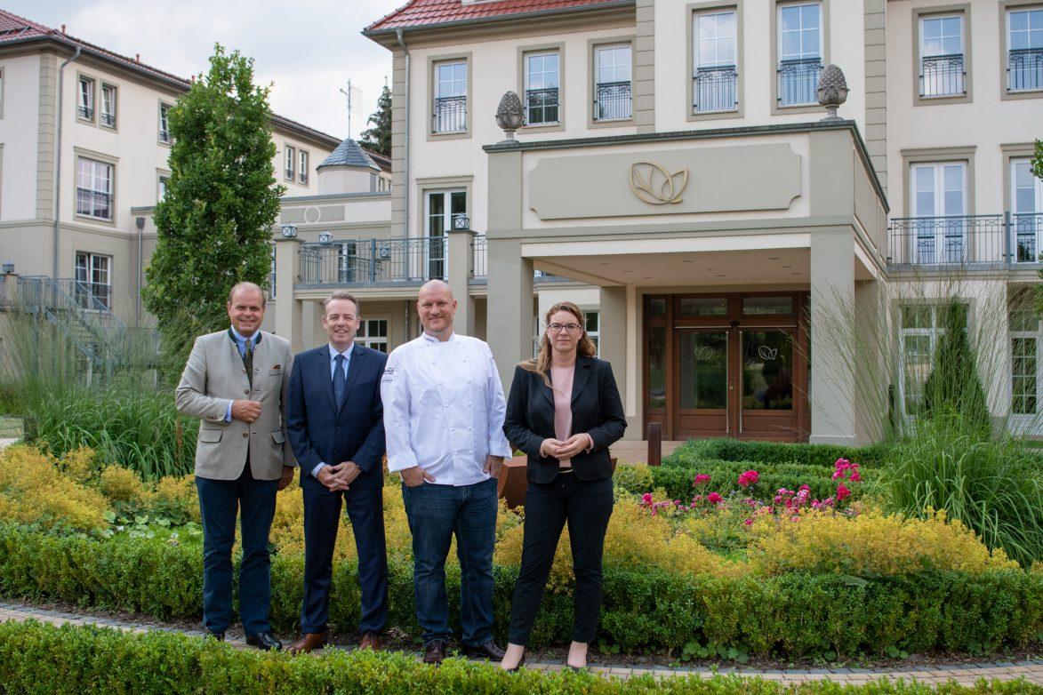 Das neue Führungsteam der Ritter von Kempski Privathotels