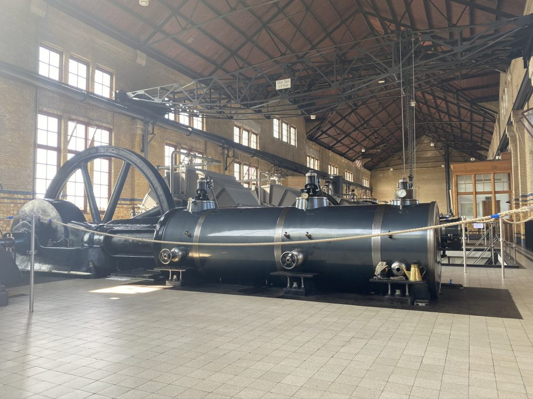 Dampfpumpwerk Niederlande Holland UNESCO