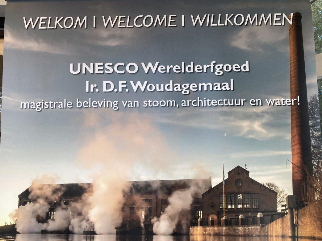 Dampfpumpwerk Wouda UNESCO Niederlande