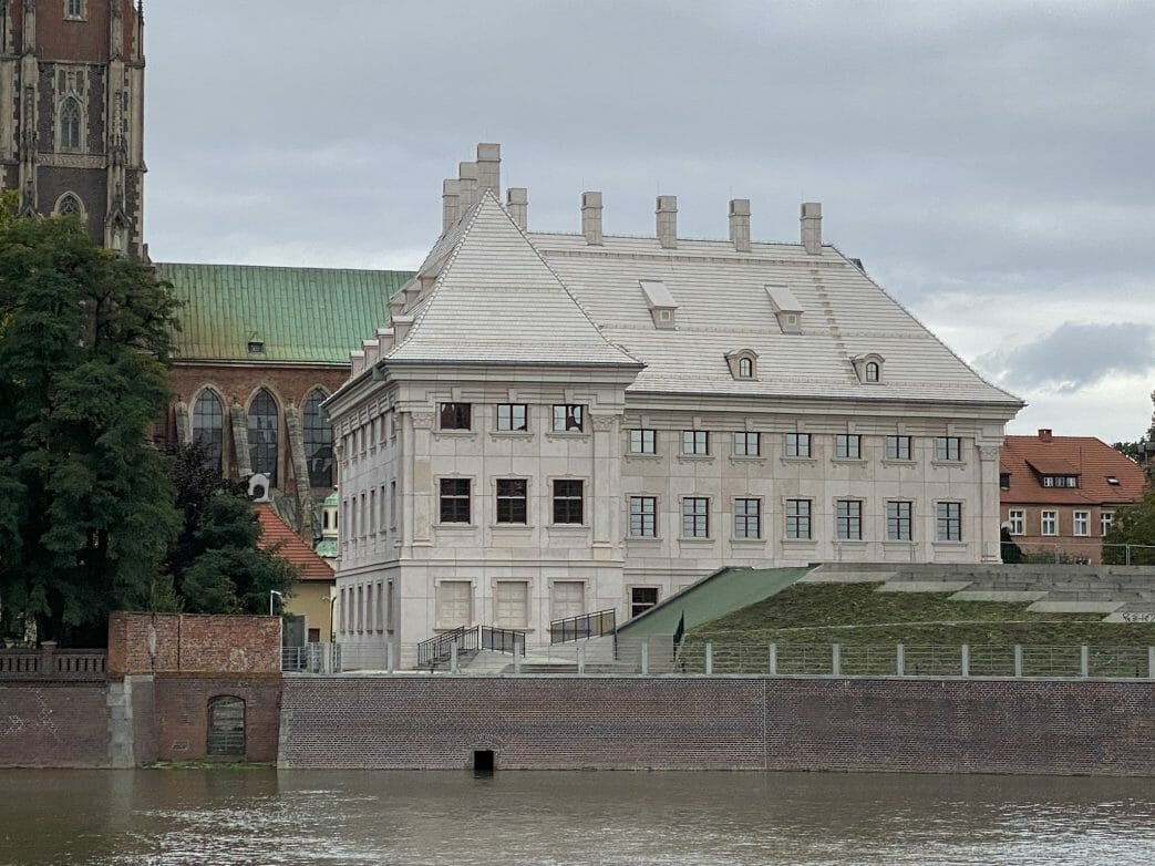 Das künftige Diozösanmuseum auf der Dominsel