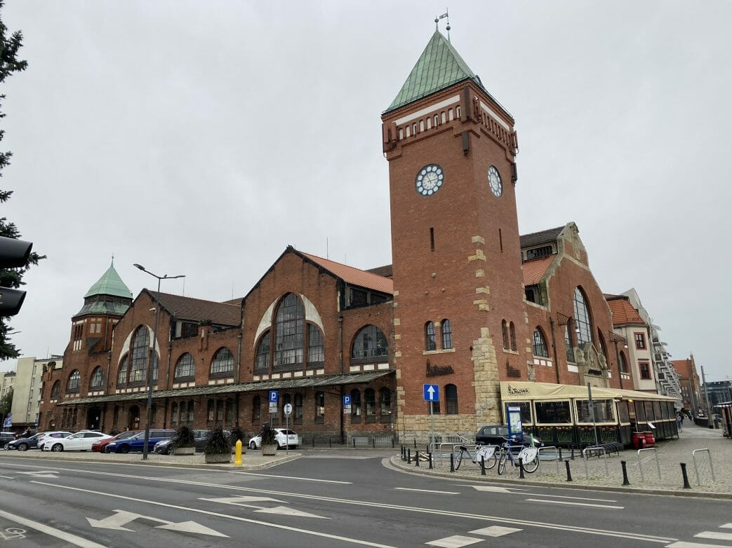 Breslau Polen Markthalle Breslau