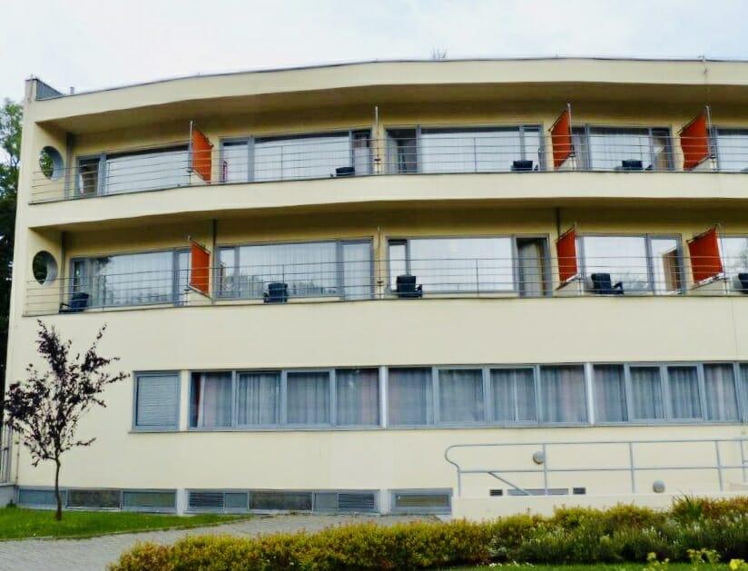Dazu gehörte auch das Ledigenheim, ein Frühwerk des berühmten Architekten Hans Scharoun