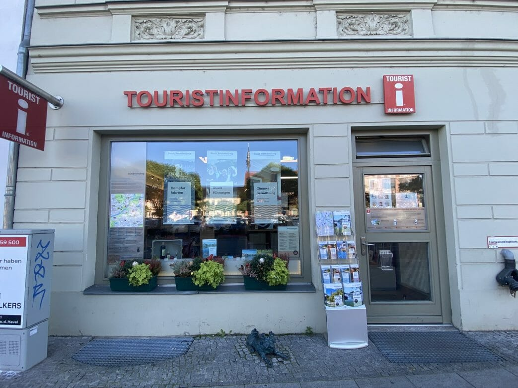 Touristinformation in Brandenburg/Havel