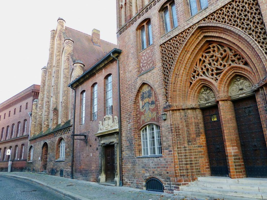 Rückseite des Altstädtischen Rathauses und Ordonnanzhaus