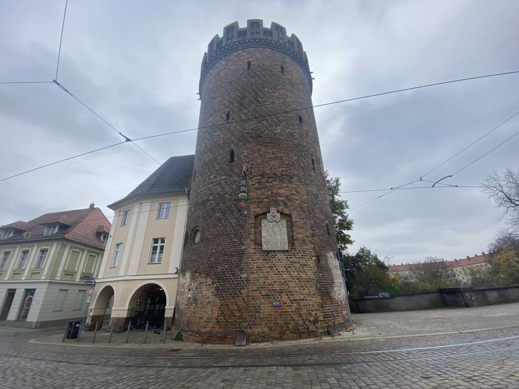 Der Steintorturm ist der mächtigste Torturm der Neustädter Stadtmauer in Brandenburg an der Havel.