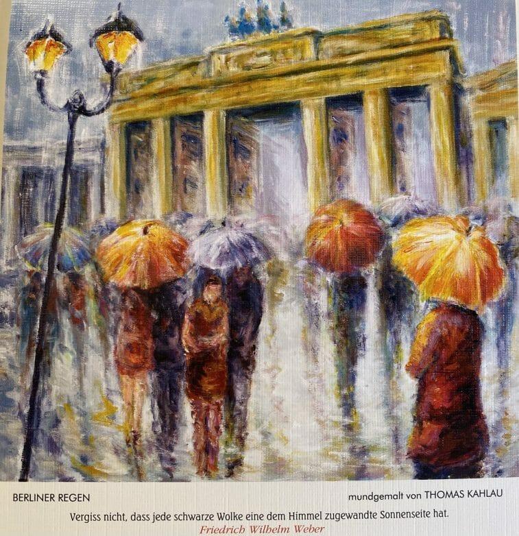Berliner Regen von Thomas Kahlau