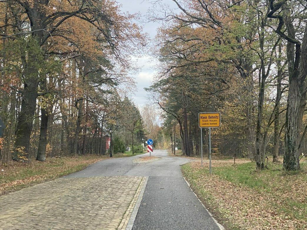 Ziegelstraße Klein Behnitz