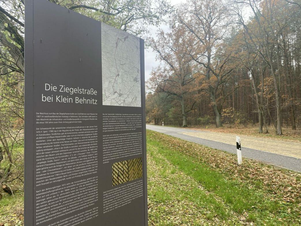 Ziegelestraße Klein Behnitz