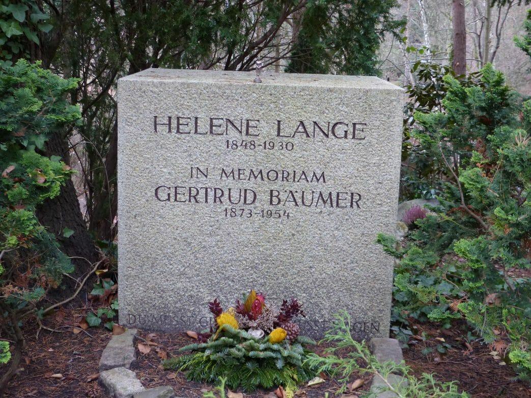 Frauenrechtlerin Helene Lange