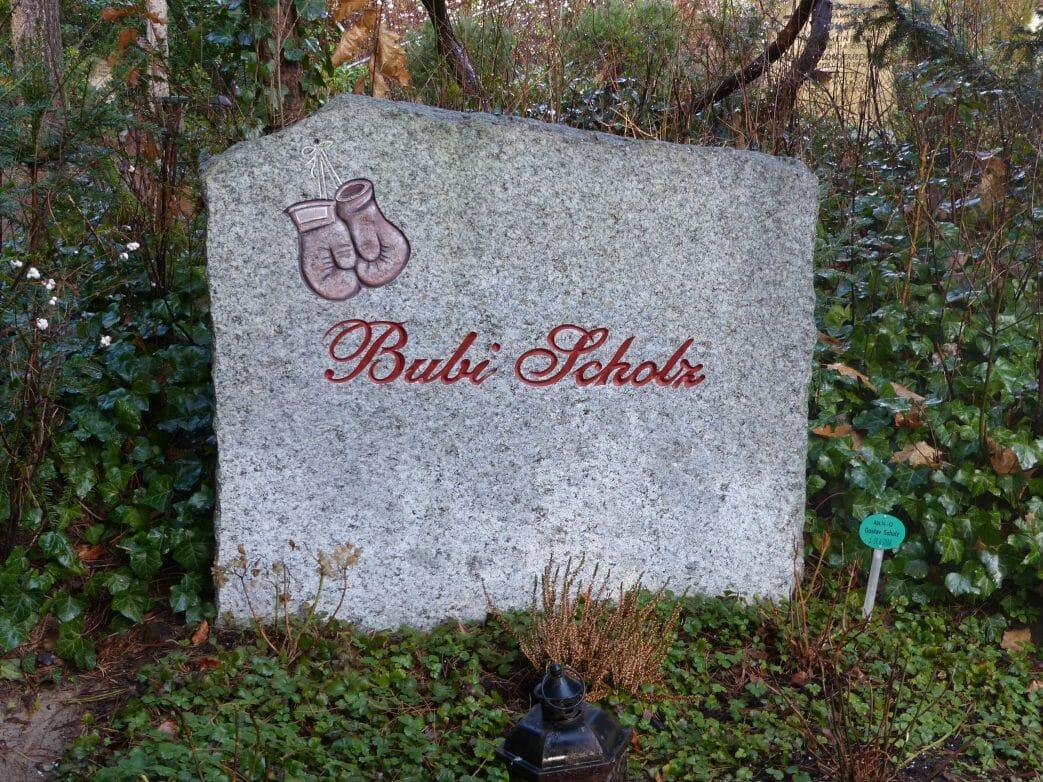 Friedhof Heerstrasse Bubi Scholz