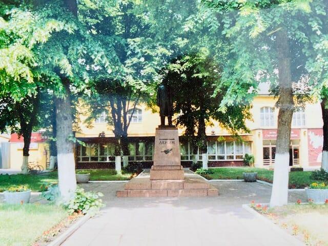 Das von den Sowjets aufgestellte Lenindenkmal verschwand Mitte der 90er Jahre