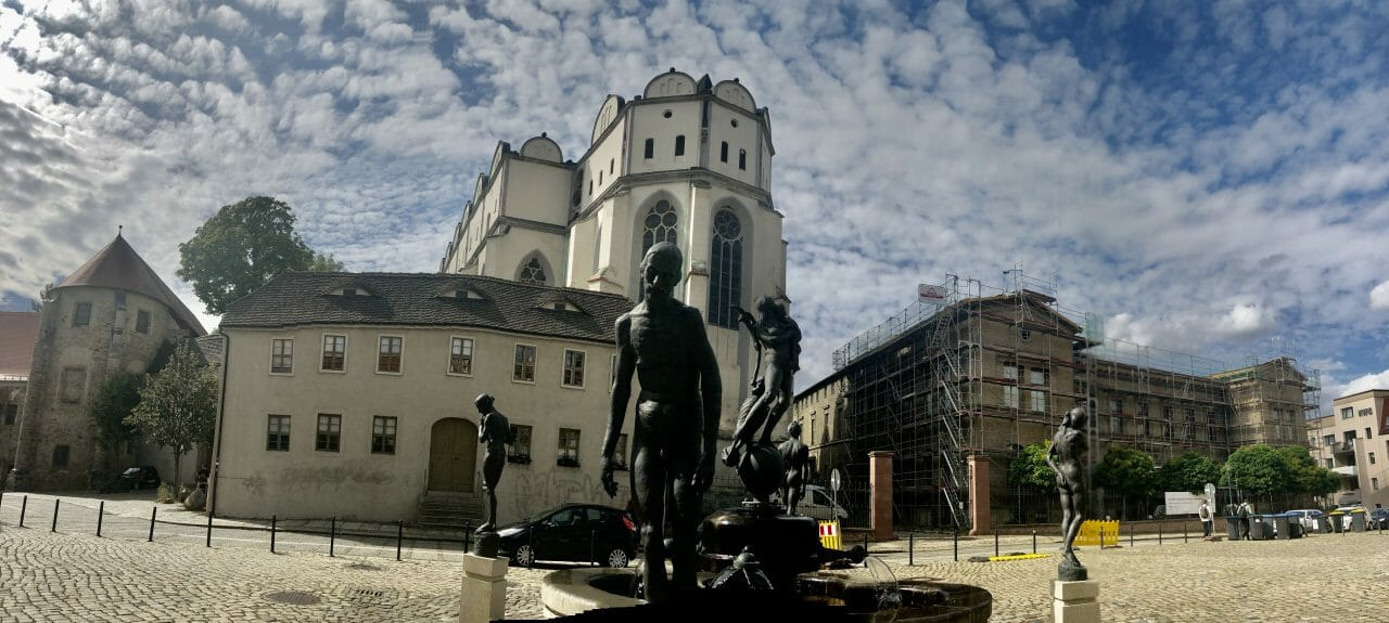 Panorama Halle/Saale Dom