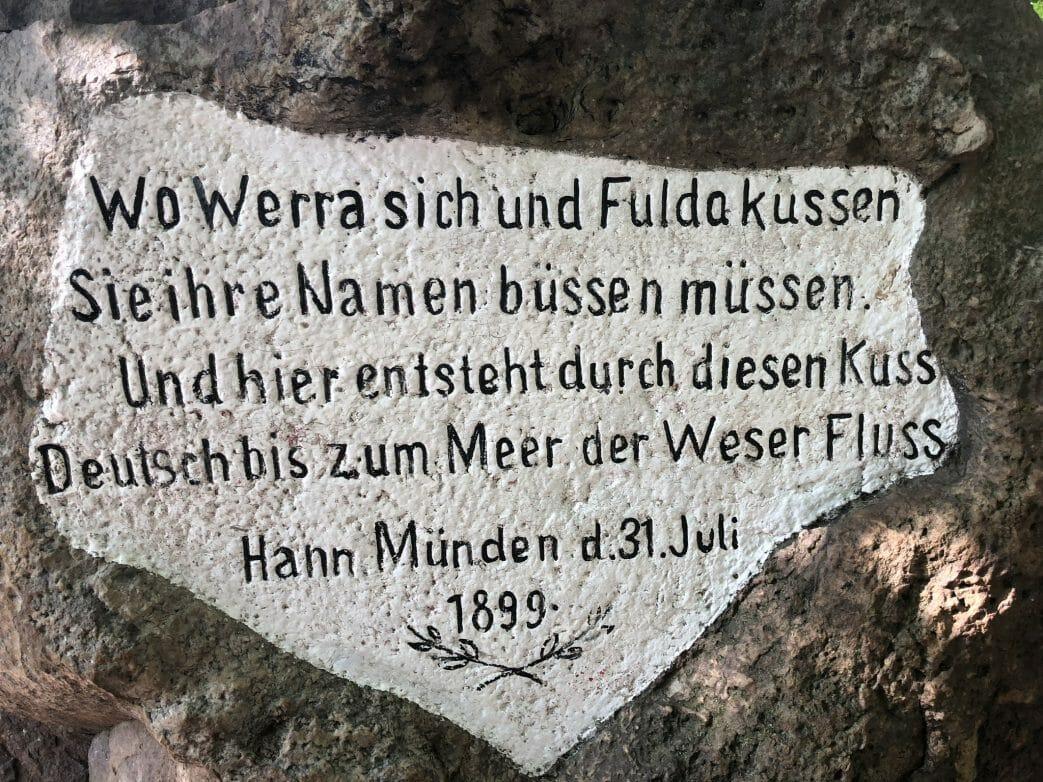 Wo Werra und Fulda