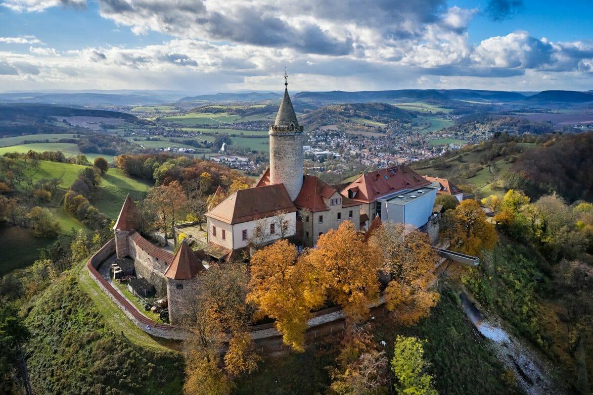 Seitenroda, Leuchtenburg Fotograf: Florian Trykowski Bildrechte: Thüringer Tourismus GmbH