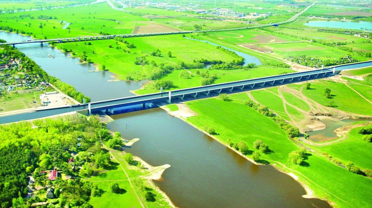 Luftaufnahme Wasserstraßenkreuz