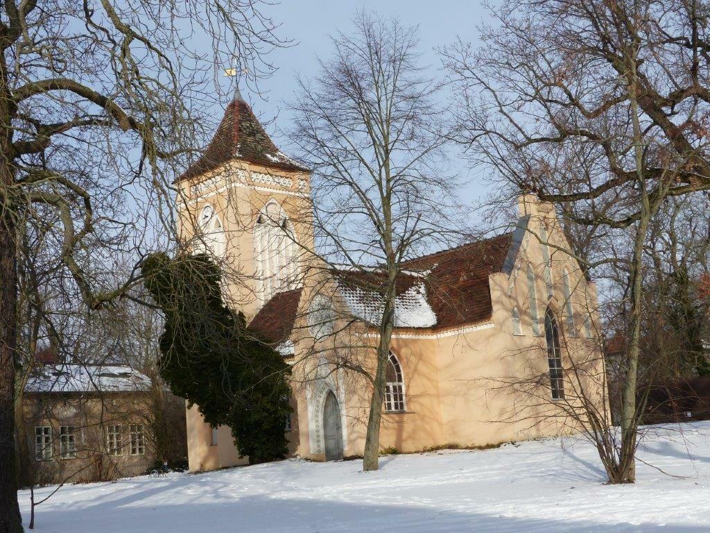 Paretz Kirche Havelland Dorfkirche