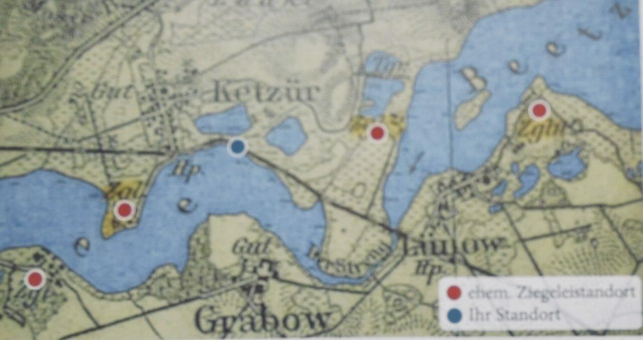Karte von Ketzür nach Lünow