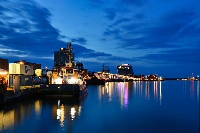 Hafen von Kiel nicko tours Foto: nicko - cruises