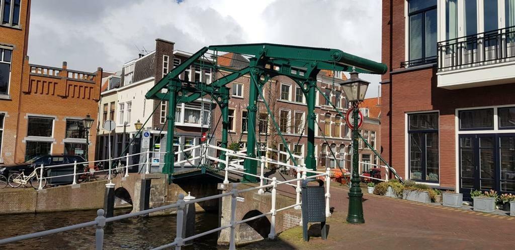 Technisches Denkmal ist die Zugbrücke