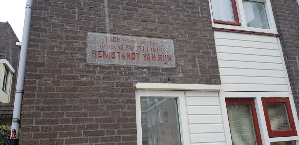 Geburtsort von Rembrandt in Leiden