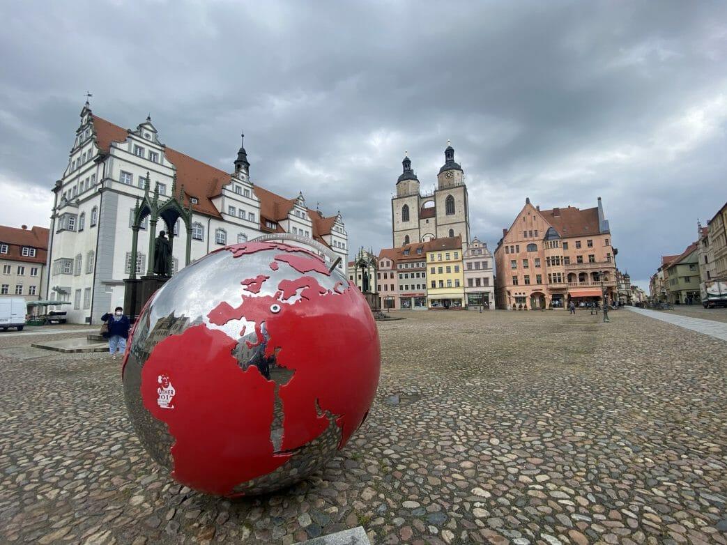 Renaissance pur - Rathaus in Wittenberg