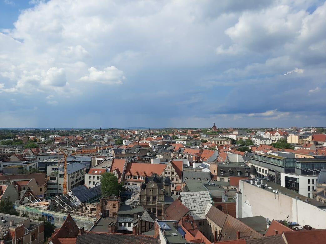 Halle.Luftbild.Sachsen-Anhalt
