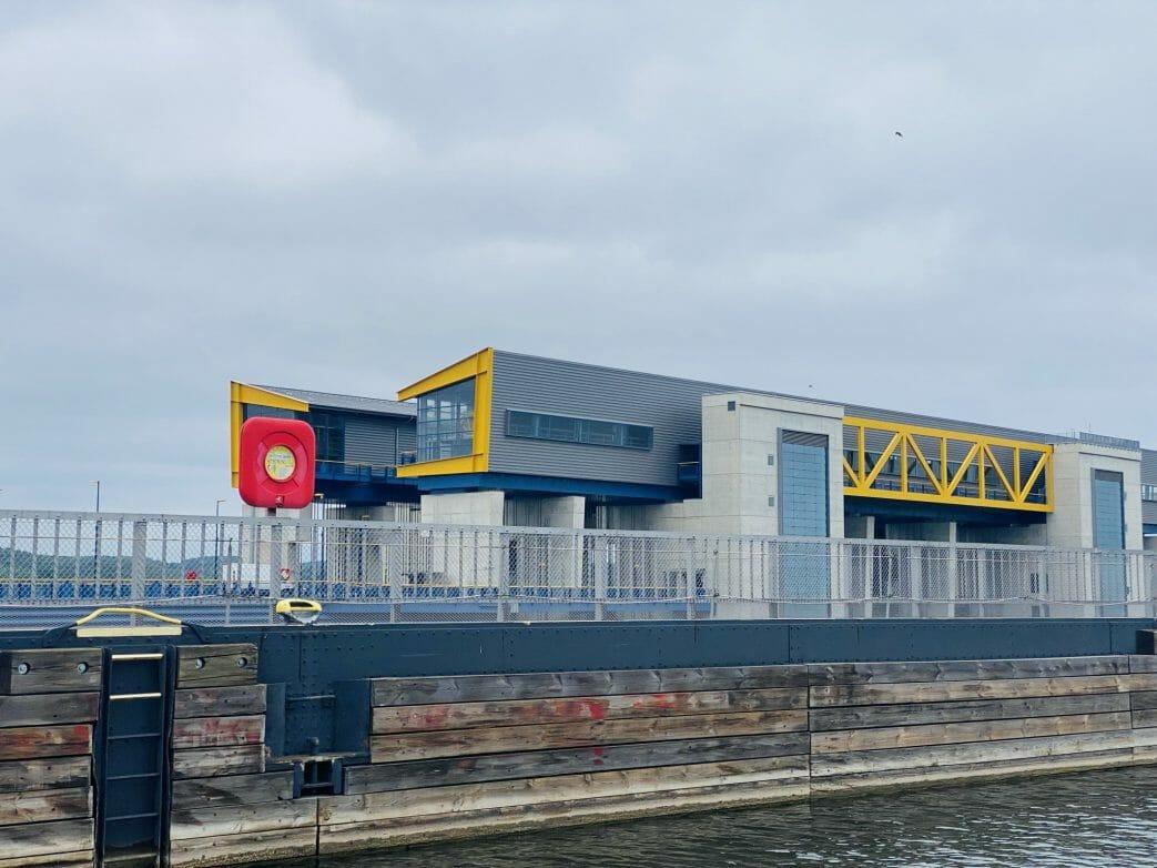 Das neue Schiffshebewerk Niederfinow