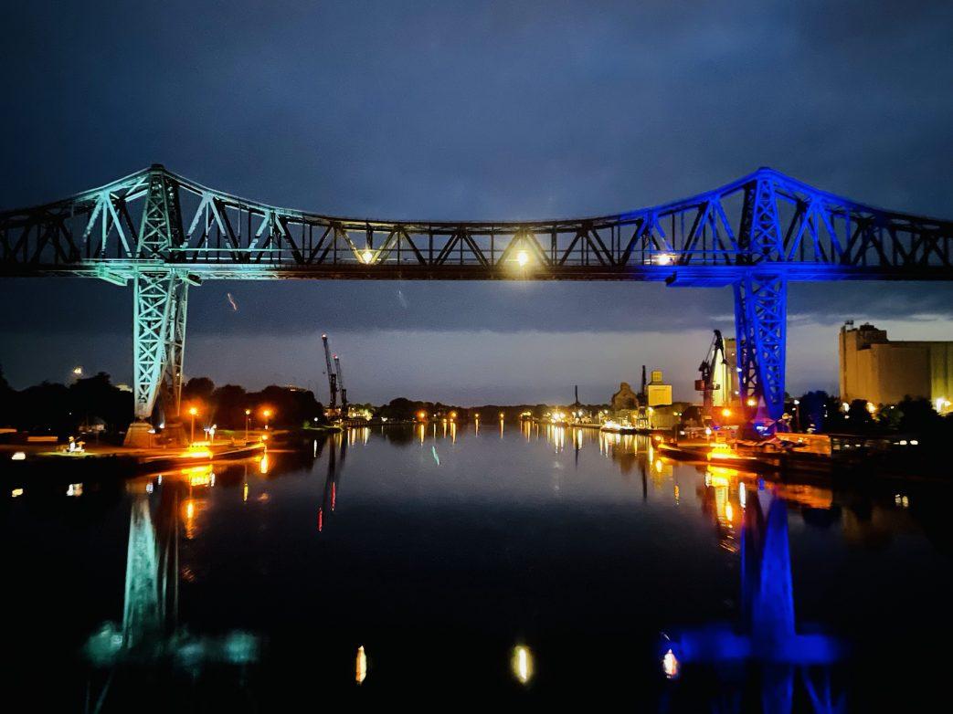 Die Brücke von Rendsburg