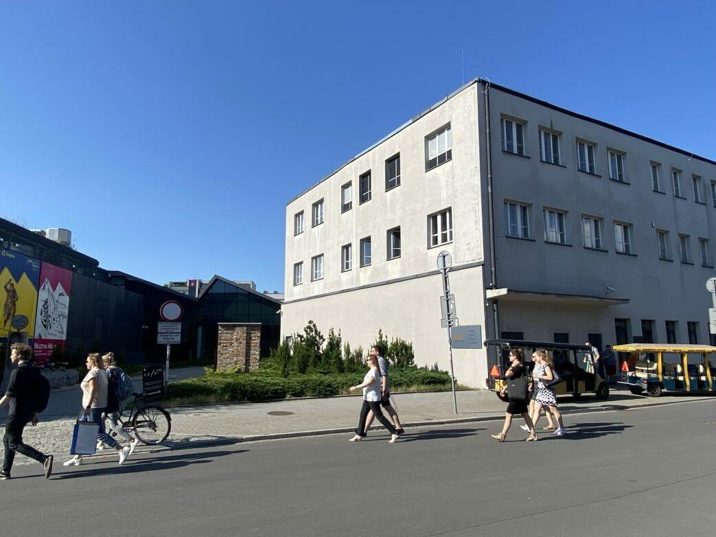 Museum für zeitgenössische Kunst und ehemalige Fabrik von Oskar Schindler
