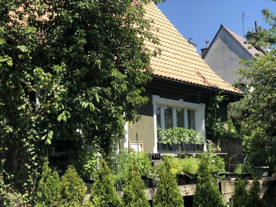 Lems erstes Wohnhaus in der Uliza Narvik 21
