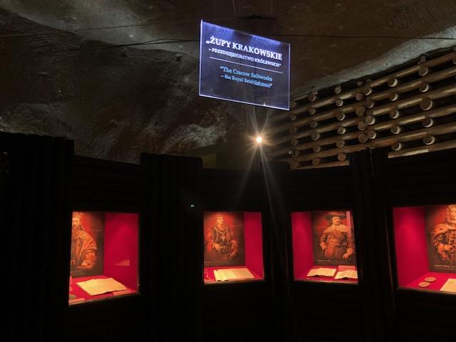 Ausstellung zur polnischen Bergbau- und Dynastiegeshcichte