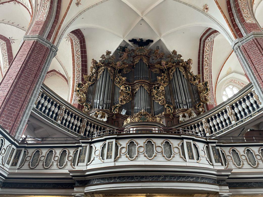 Brandenburg.Katharinenkirche.Orgel
